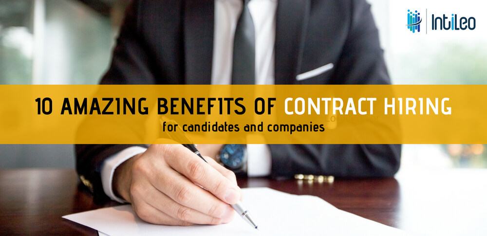 benefits of contract hiring